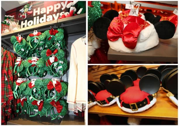 Holiday Headwear at Disney Parks