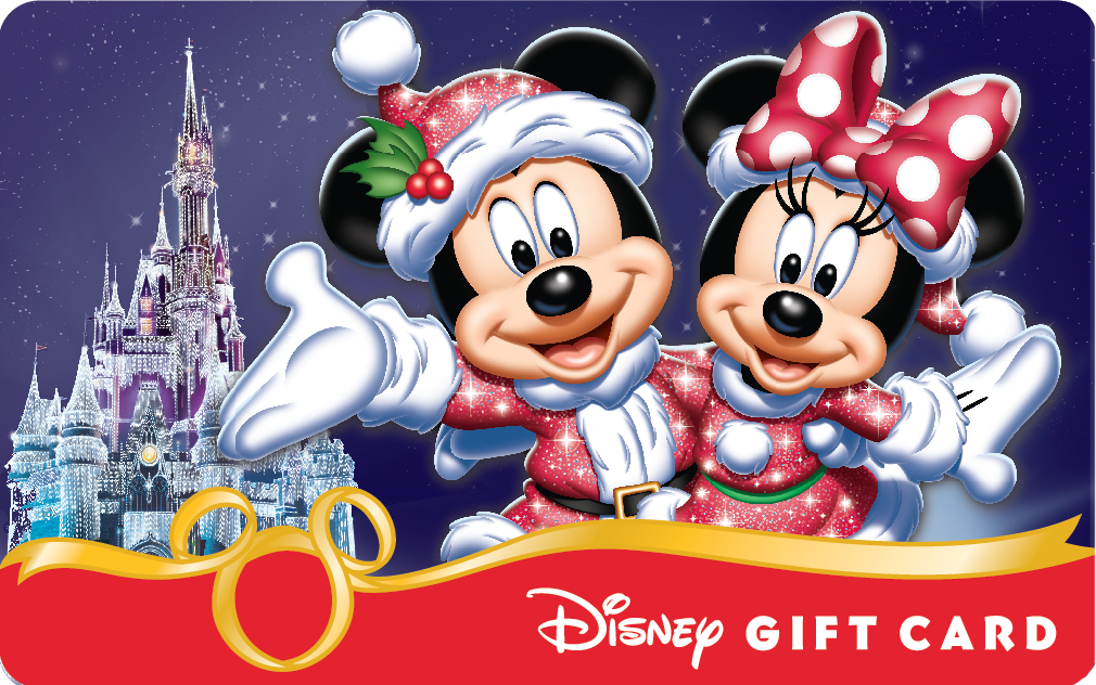 Smart Phones Add Some Magic To New Holiday Themed Disney Gift Card