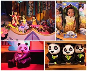 'it's a small world' Inspired Doll and Plush Collection