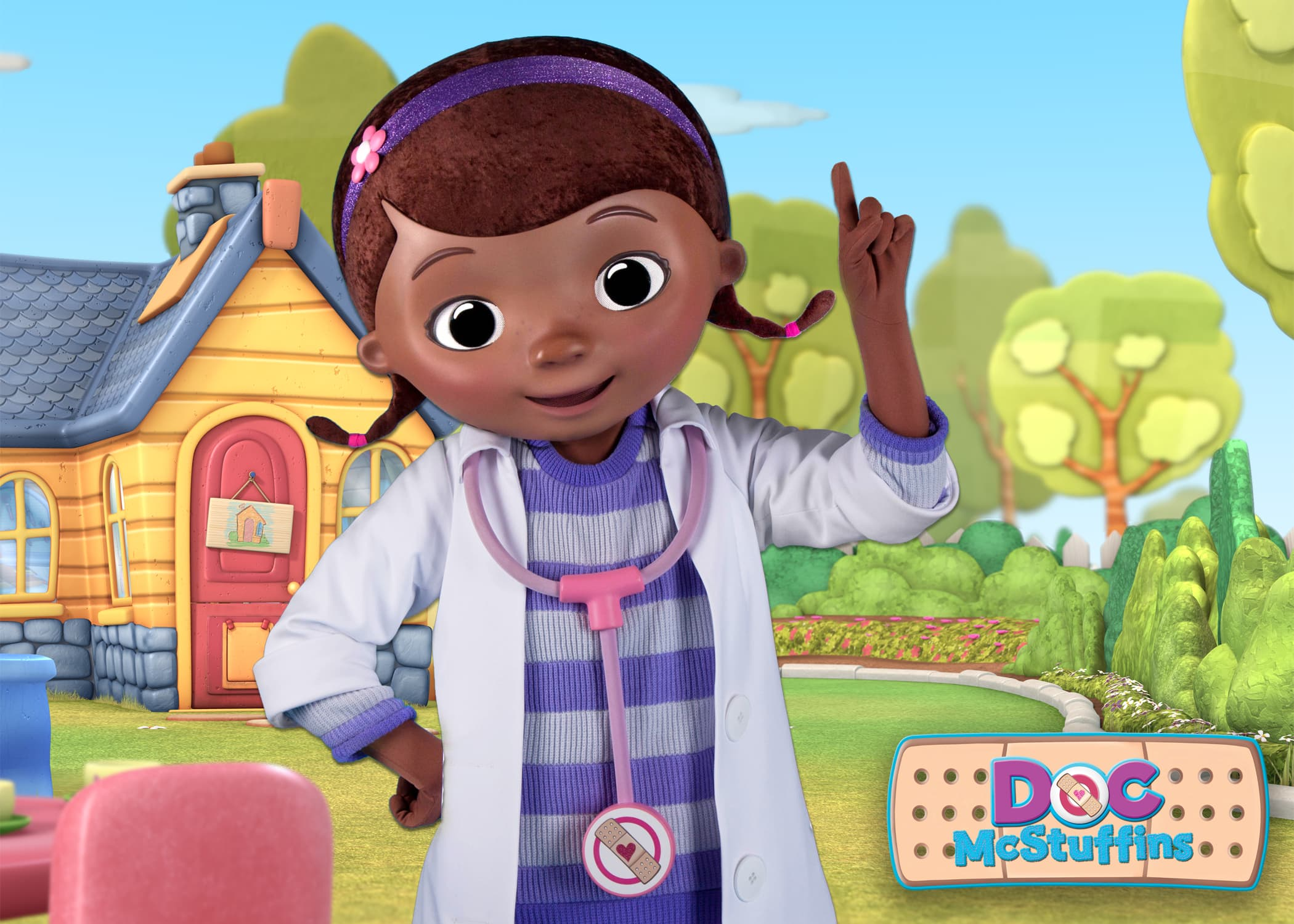Playing And Dining With Doc Mcstuffins And Sofia The First At