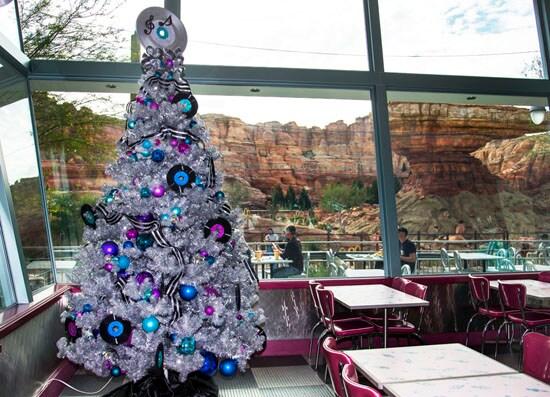 Flo's Tree in Cars Land at Disney California Adventure Park