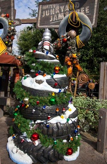 Mater's Tree in Cars Land at Disney California Adventure Park