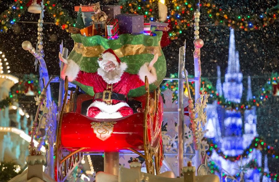 sta982651 - Disneyworld At Christmas Time