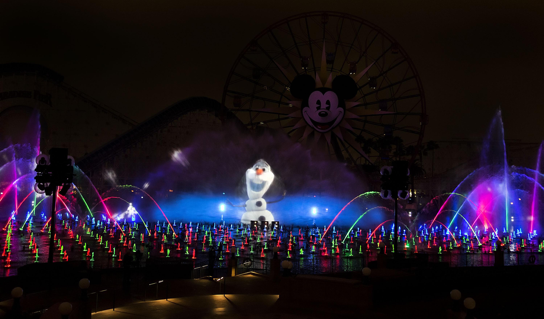 'World of Color' - Winter Dreams at Disney California Adventure Park