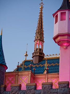 A Unique Point of View: Sleeping Beauty Castle at Disneyland Park