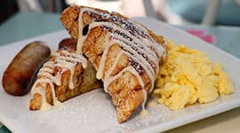 Cinnamon French Toast At River Belle Terrace In Disneyland Park