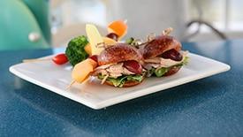 New Kids' Meals at Ariel's Grotto at Disney California Adventure Park, Featuring Clammy Turkey Sammy