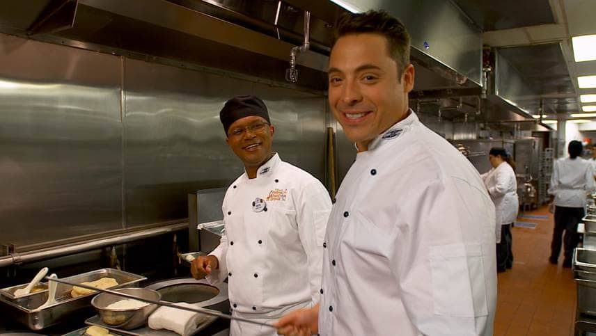 The Mauro S Magical Disney Vacations Airs On Food Network