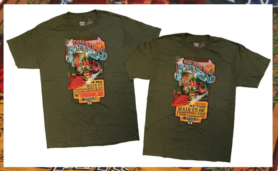All Aboard With Disney Railroad T Shirts Coming To Disney Parks