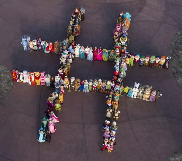 "140 Characters Formed a Hashtag at Magic Kingdom Park and Invite You and Your Family to ""Rock Your Disney Side"" During a 24-hour Party to Kick Off Summer."