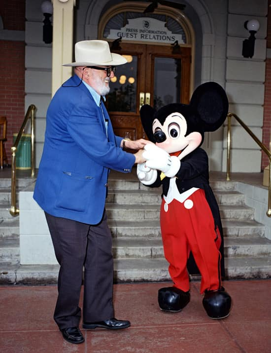 A Look Back At Celebrated Disneyland Resort Guests Ansel