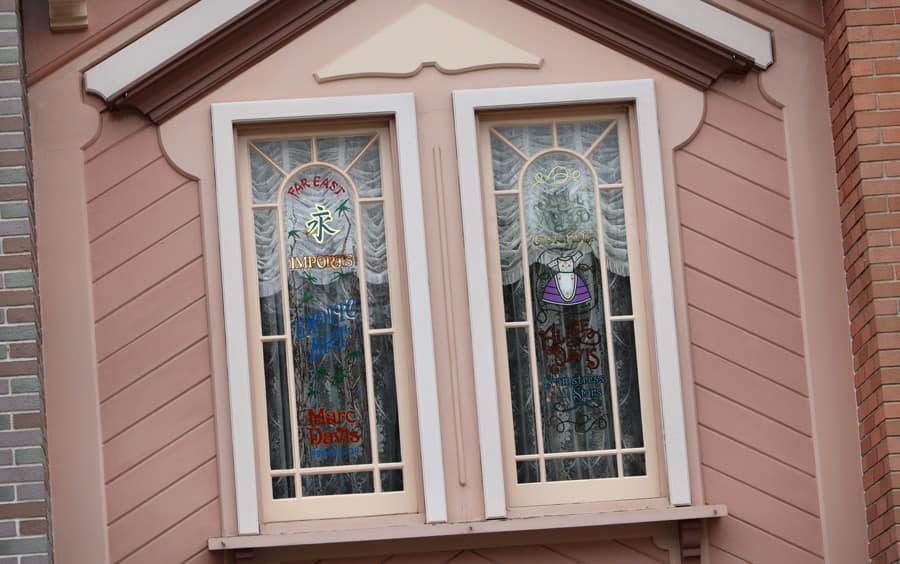 Delicieux Windows On Main Street, U.S.A., At Disneyland Park: Marc And Alice Davis