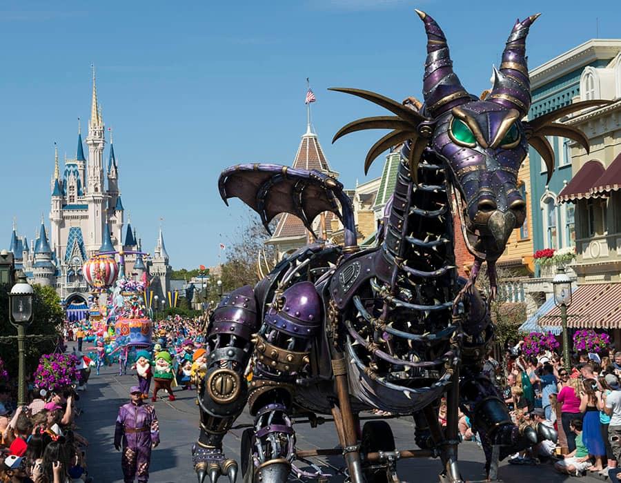 'Disney Festival of Fantasy Parade' Debuts at Magic Kingdom Park