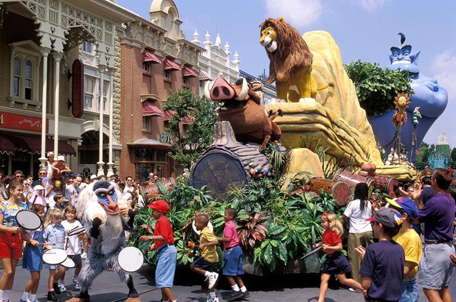 Step in Time: 'Magical Moments Parade' Debuts at Magic Kingdom Park