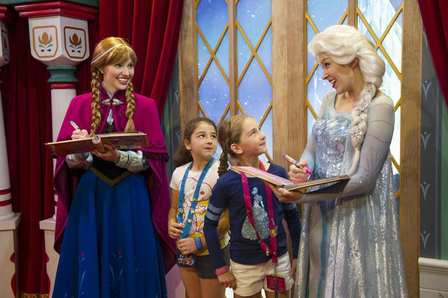 Anna and elsa from frozen heading to magic kingdom park disney anna and elsa from frozen heading to magic kingdom park m4hsunfo