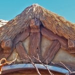 The Seven Dwarfs Mine Train Cottage Close Up at Magic Kingdom Park