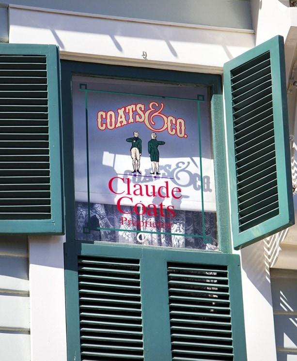 (April 11, 2013)  Main Street Windows (Paul Hiffmeyer/Disneyland Resort)