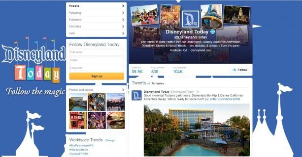 Popular In-Park Social Media Program Disneyland Today Expands to Cover Entire Disneyland Resort