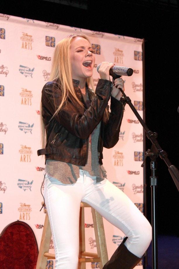 Danielle Bradbery Performing at Festival Disney