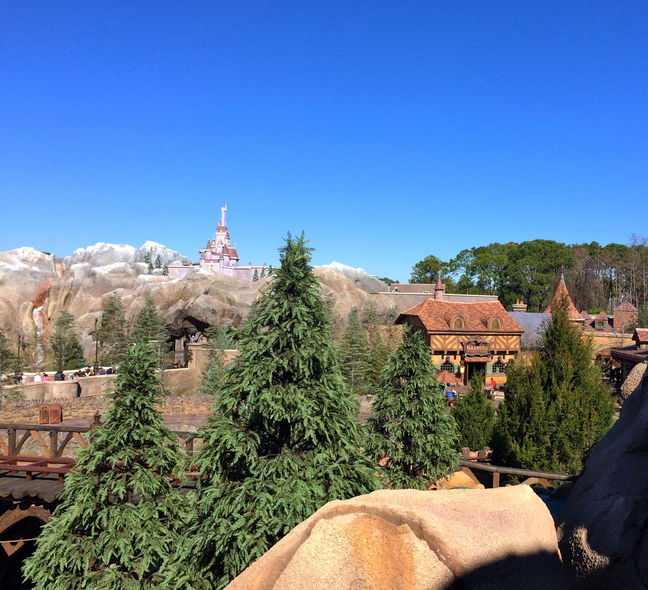 All in the Details: The View From the Top of Seven Dwarfs Mine Train at Magic Kingdom Park