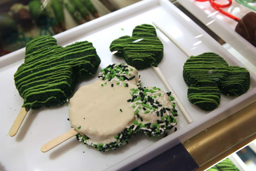 charming treats for st patrick s day 2014 at disney parks disney