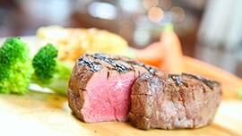 Filet at Steakhouse 55 in Disneyland Hotel