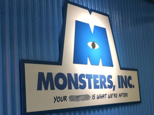 """Can You Finish This Disney Parks Sign From the """"Monsters, Inc."""" Meet and Greet at Disney's Hollywood Studios"""