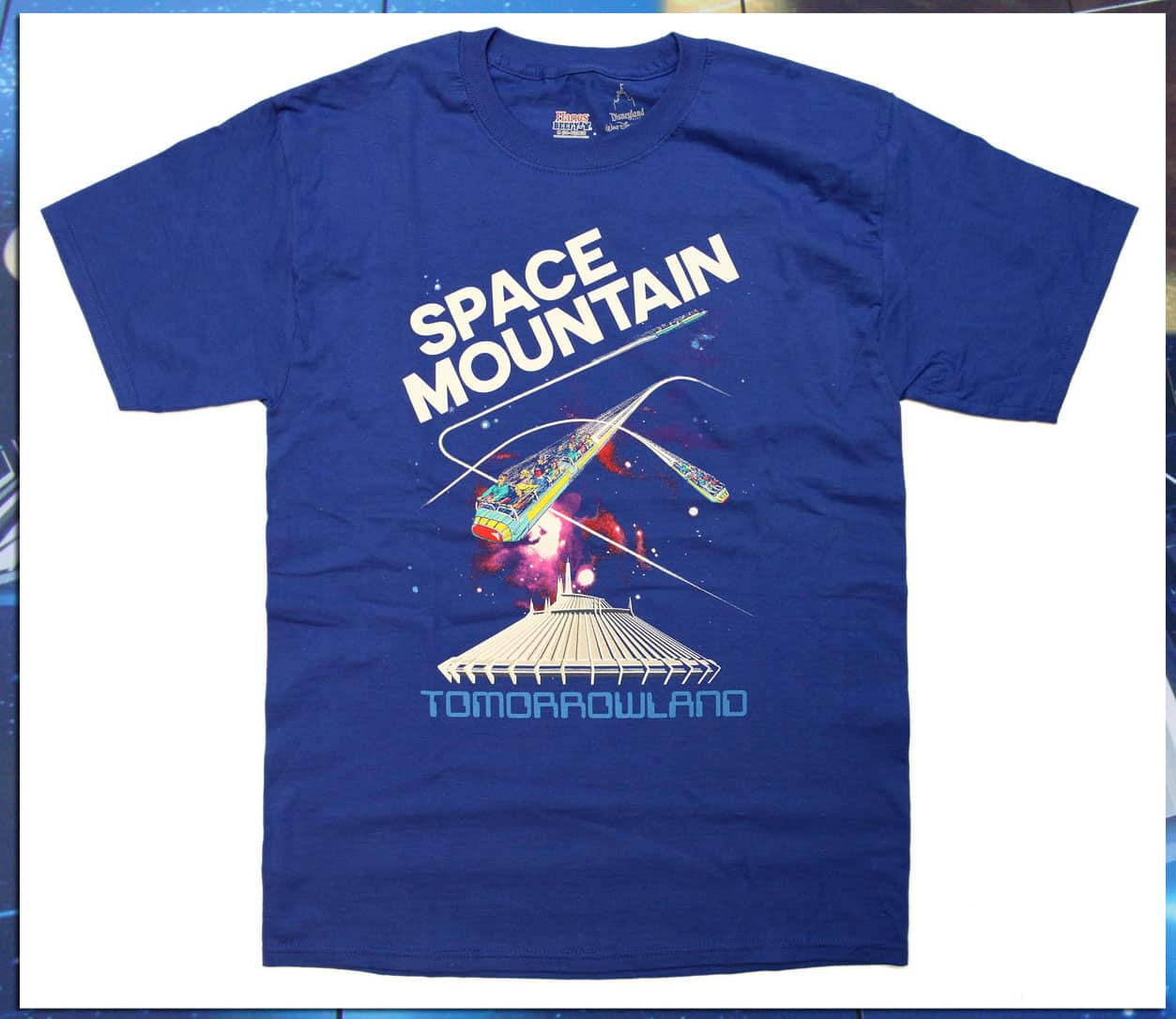 008016f1290141 Space Mountain Shirts Cleared for Launch on Disney Parks Online Store March  10-16