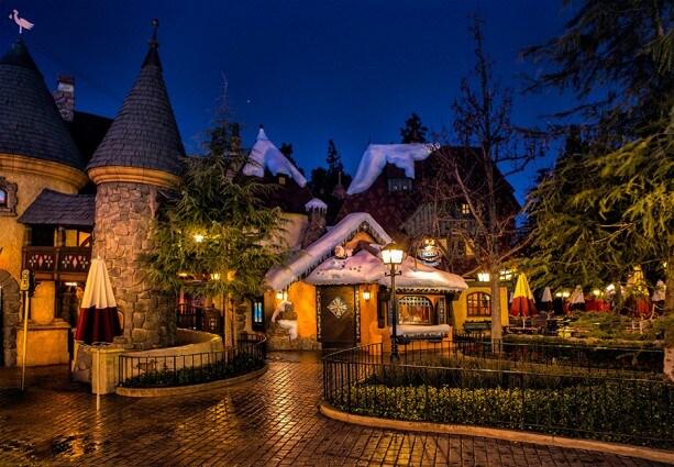 The Frozen Royal Reception Cottage in Fantasyland at Disneyland Park