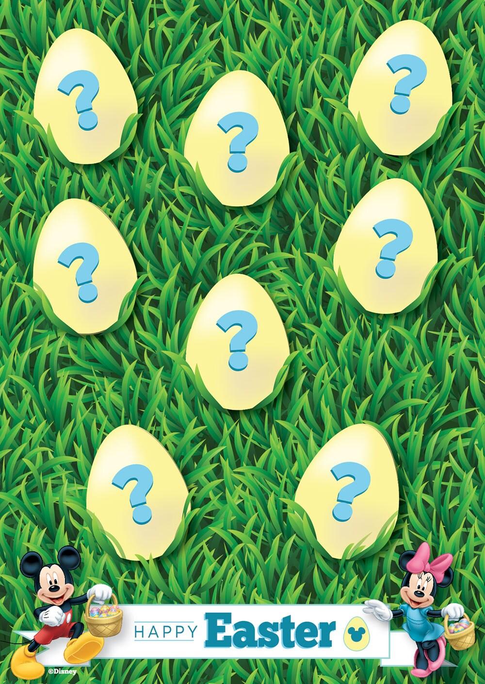 Join Disney's Digital Easter Egg Hunt on April 20