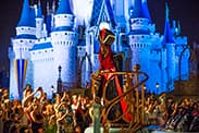 Disney Villains Appear in 'It's Good To Be Bad' Pre-Parade