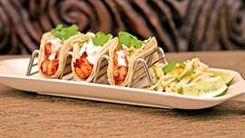 Shrimp Tacos at Tangaroa Terrace at the Disneyland Hotel