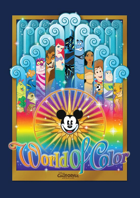 2013 S Color Of The Year Emerald Green: New 'World Of Color' Merchandise Debuts At Disney