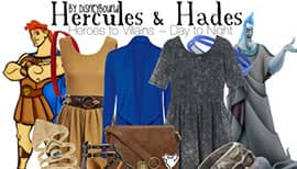 DisneyBound Hercules and Hades Costumes
