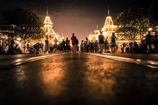 It's 3 a.m. on Main Street, U.S.A. at Walt Disney World Resort