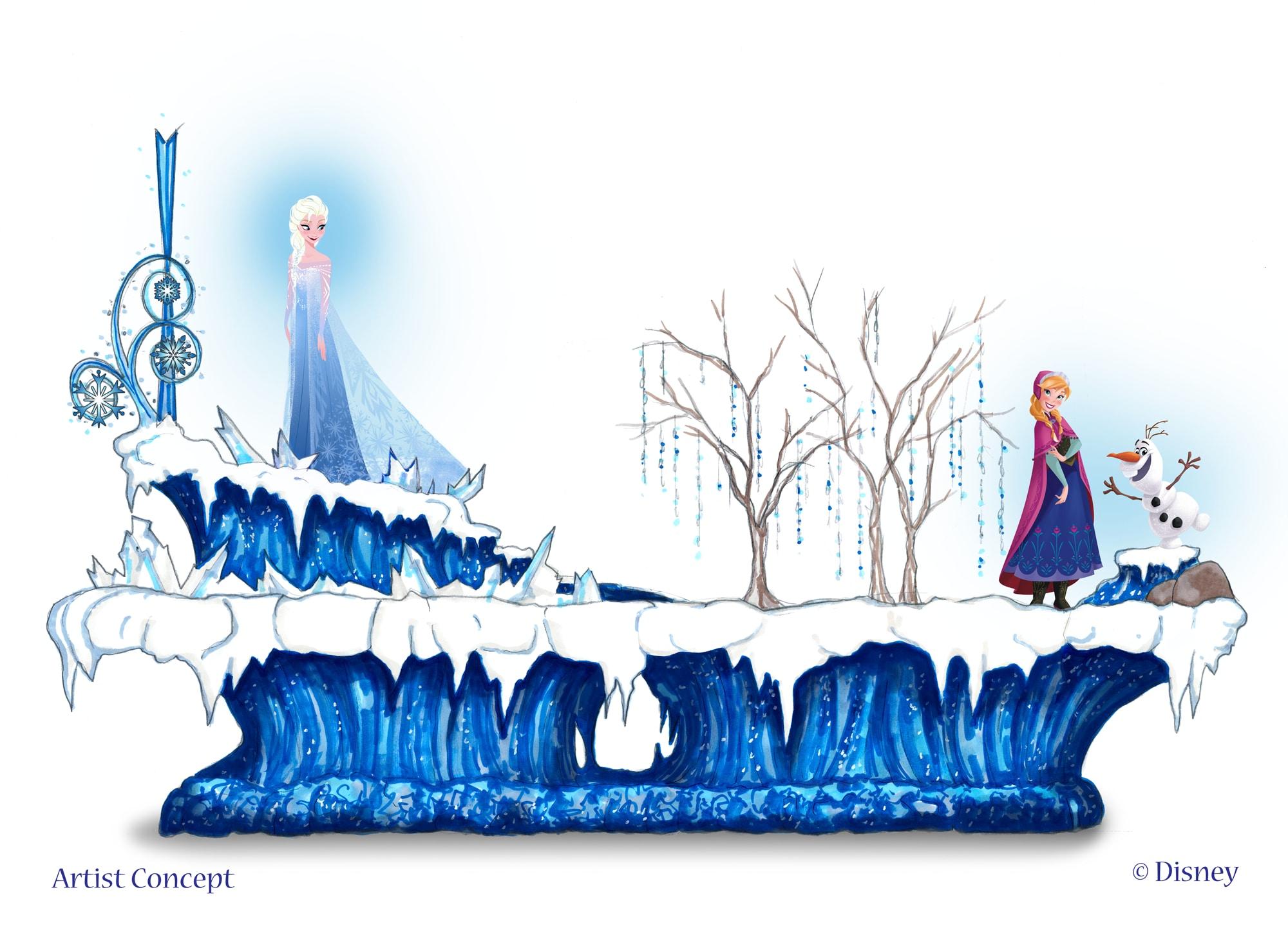More Frozen Fun At Disneyland Park This Summer Disney Parks Blog