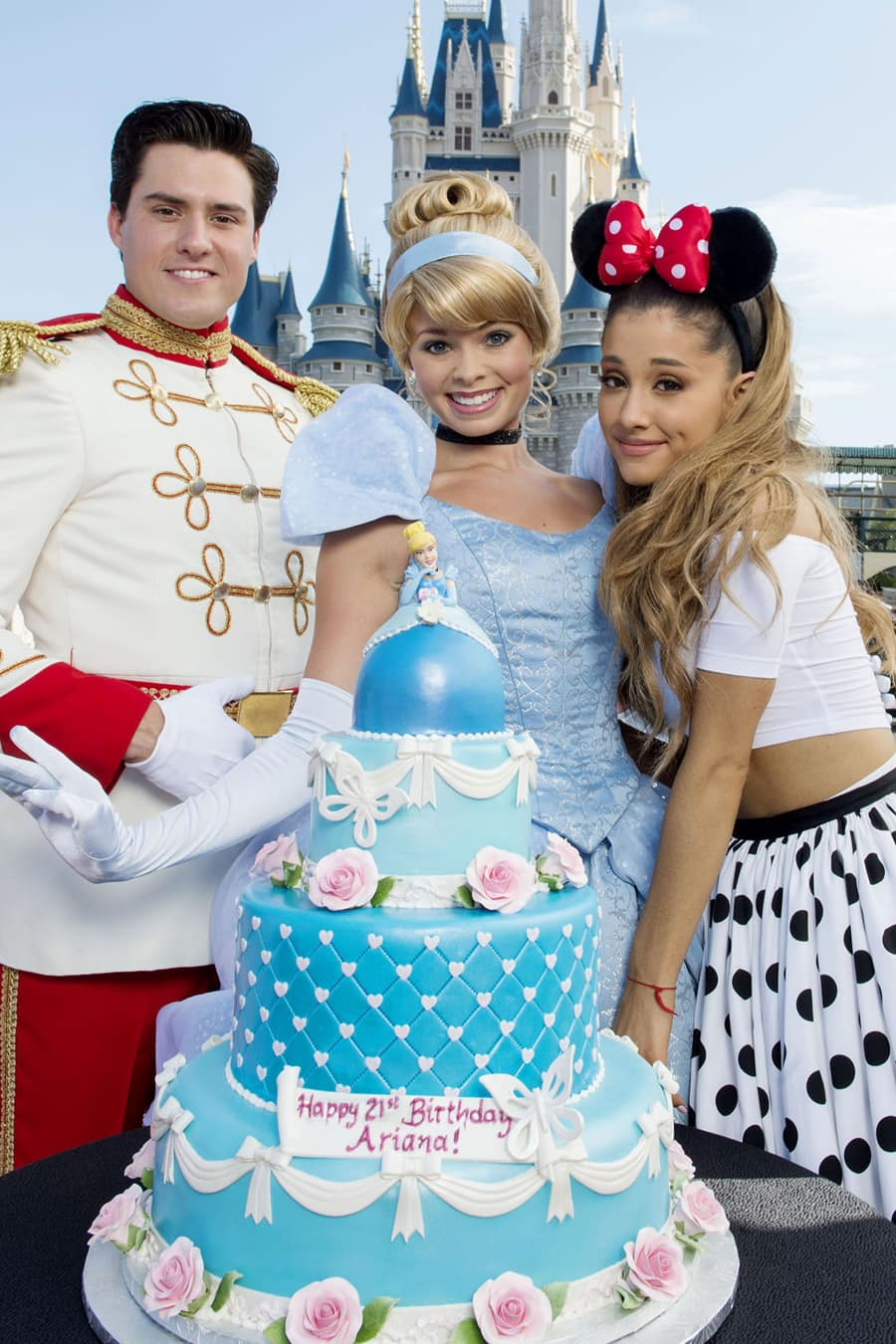 A 21st Birthday Celebration For Singing Superstar Ariana Grande At Walt Disney World Resort