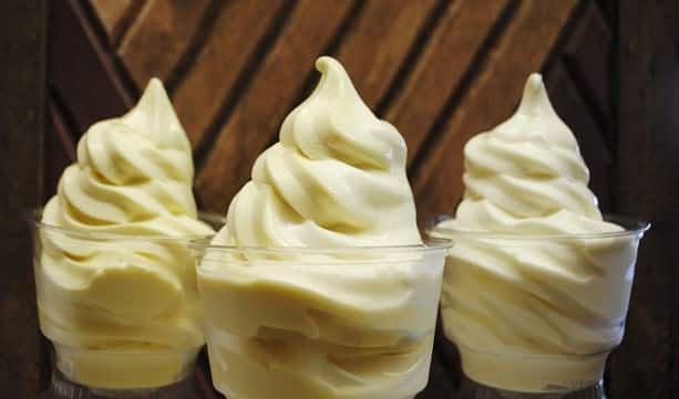 Coconut and Pineapple Frozen Yogurts at Epcot