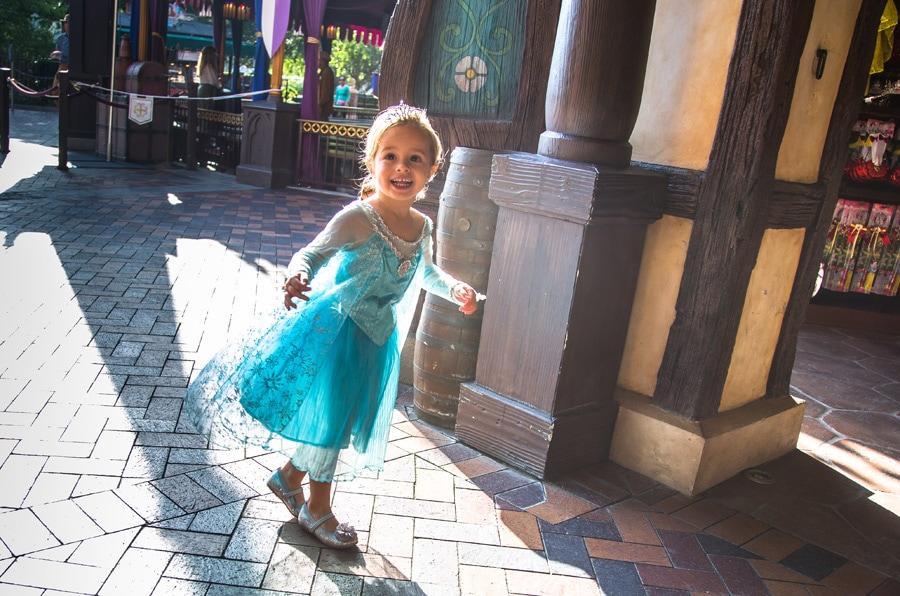 The Magic Behind Merchandise at Disney Parks: Creating Elsa's 'Frozen' Dress