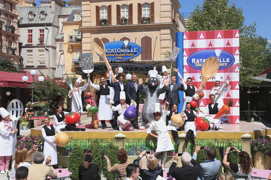 Ratatouille Comes to Life at Disneyland Paris
