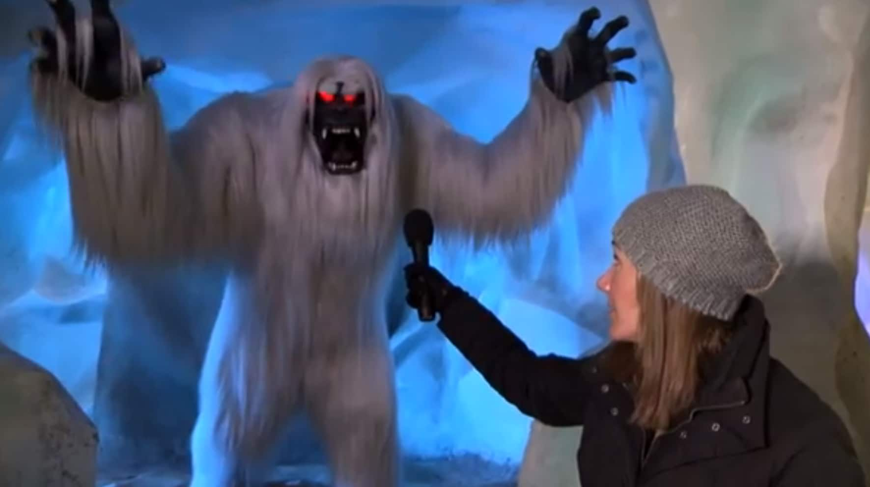 Exclusive Interview With The Abominable Snowman From Inside The