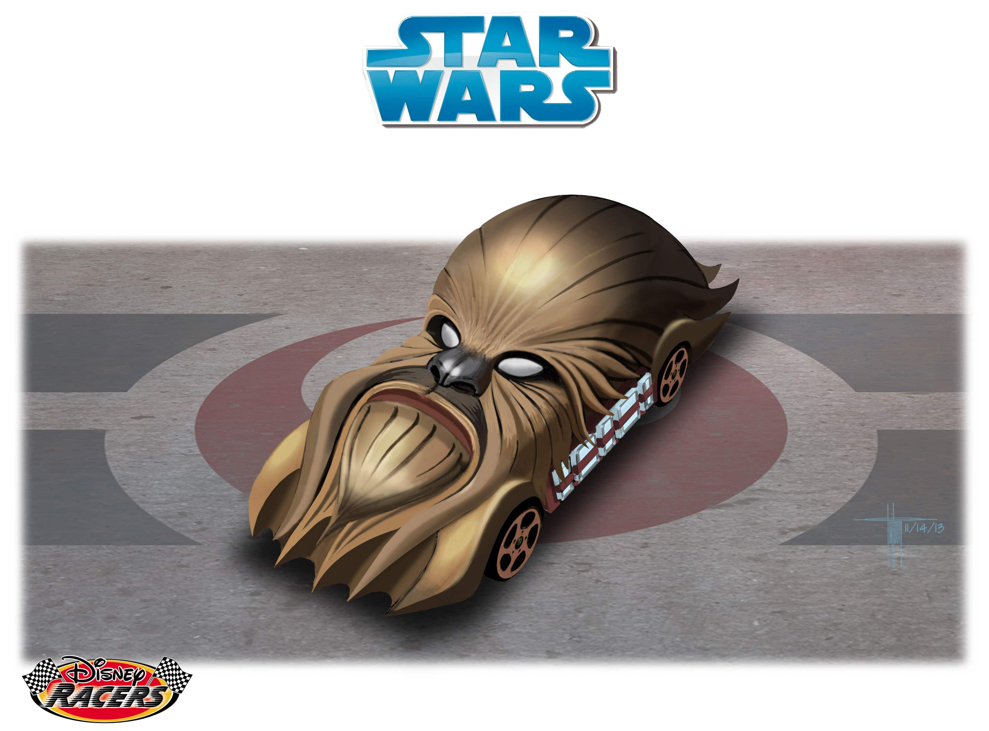 Disney Parks Blog Readers Select First-Ever 'Fan Choice' Star Wars-Themed Disney Racer