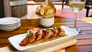 Grilled Shrimp at Alfresco Tasting Terrace at Disney California Adventure Park
