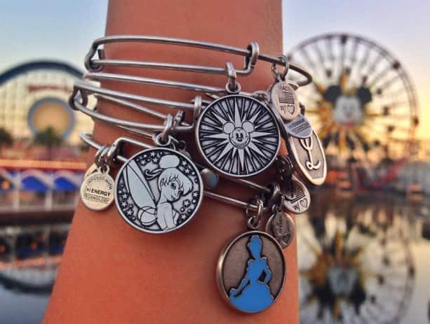 The Disney Side of Alex and Ani 'Charmed Arms' at Disney Parks