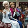 Inaugural 'Anna & Elsa's Royal Welcome' Parades Through Disney's Hollywood Studios