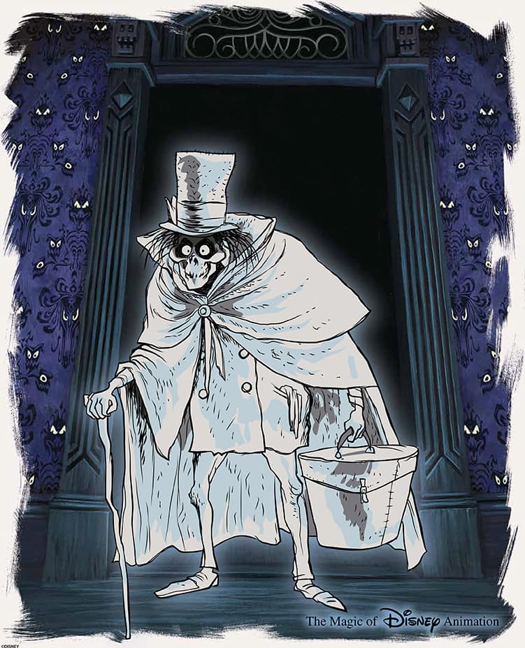 The Art Of Haunted Mansion 45th Anniversary Collectibles At The