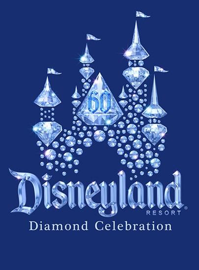 Disneyland Resort Diamond Celebration Logo