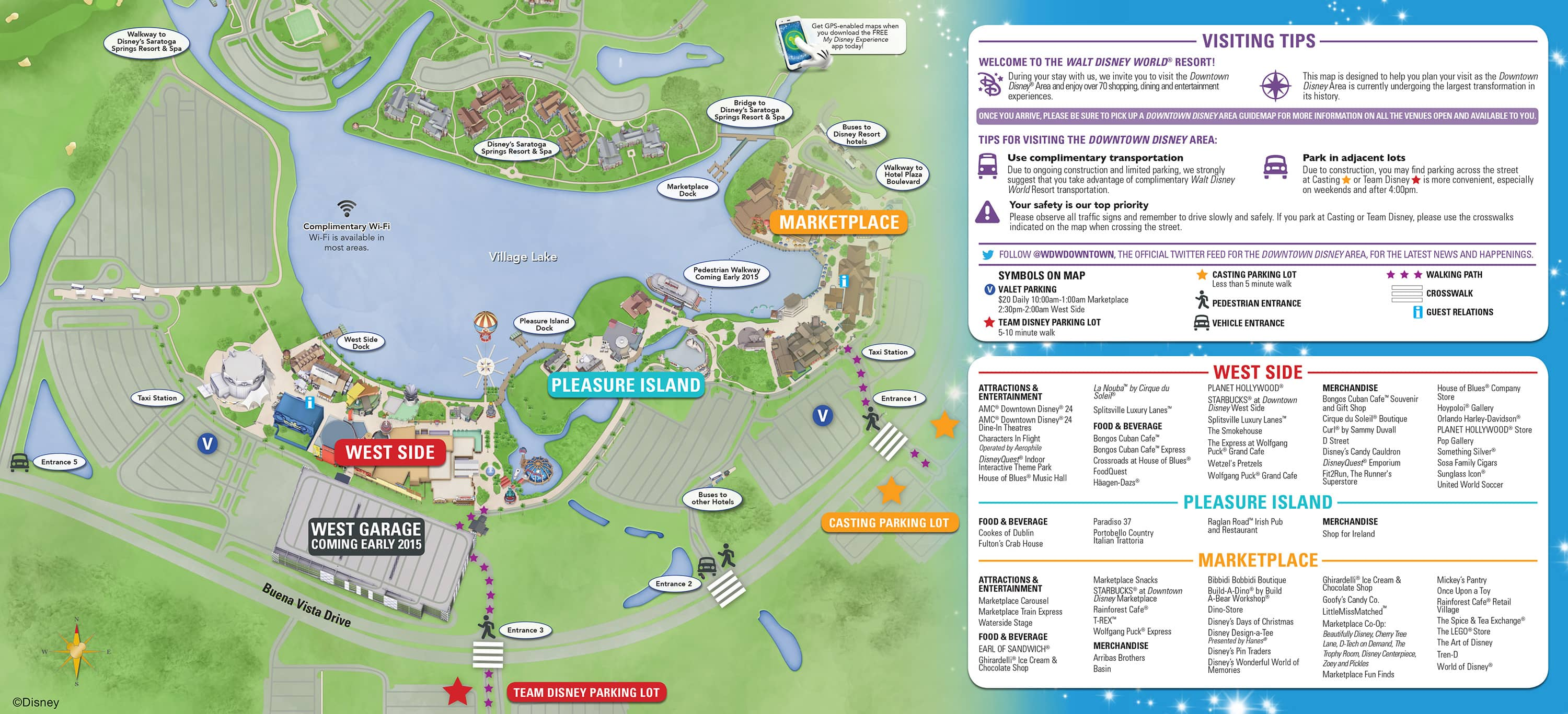 map of downtown disney orlando fl Downtown Disney Parking Information Tips Disney Parks Blog map of downtown disney orlando fl