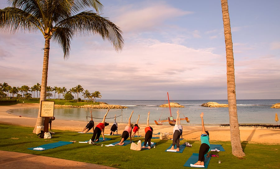 Aulani Sunrise Yoga