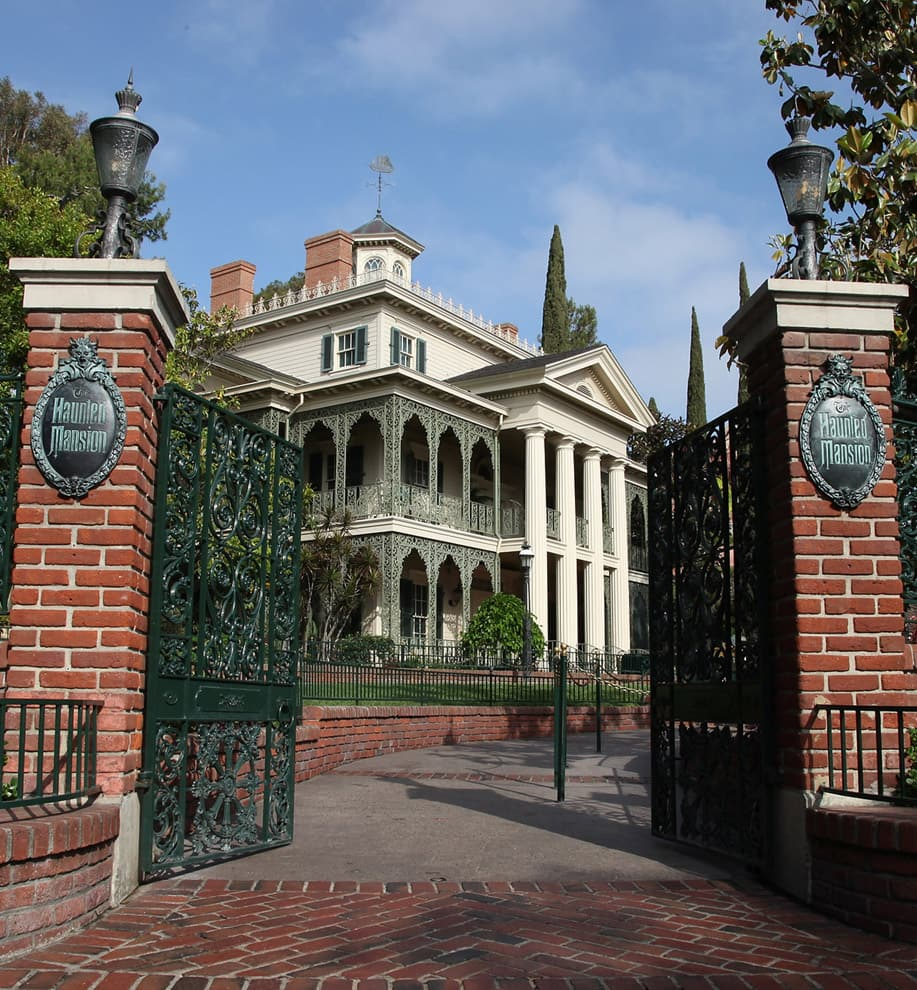 Celebrating 45 Years Of Ghoulish Delight At The Haunted Mansion At Disneyland Park